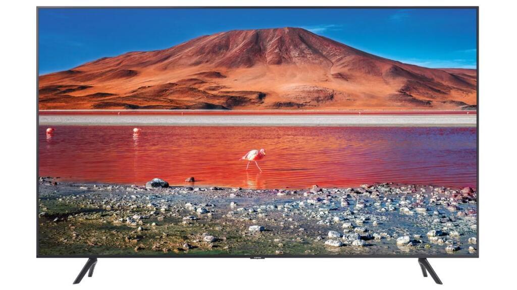 Telewizor SAMSUNG UE55TU7192U 4K, Smart TV, 55 cale LED, kompatybilny z HDR10+, 2020