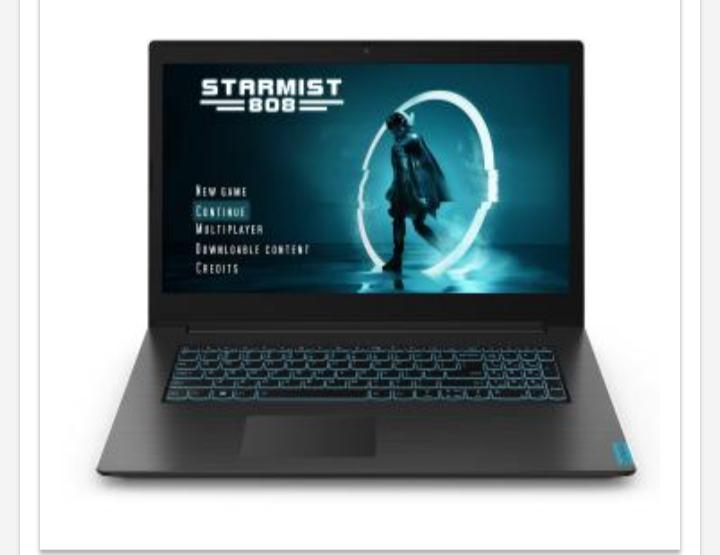 "Laptop Lenovo Ideapad L340-15IRH Gaming 15,6"" + Win 10 home"