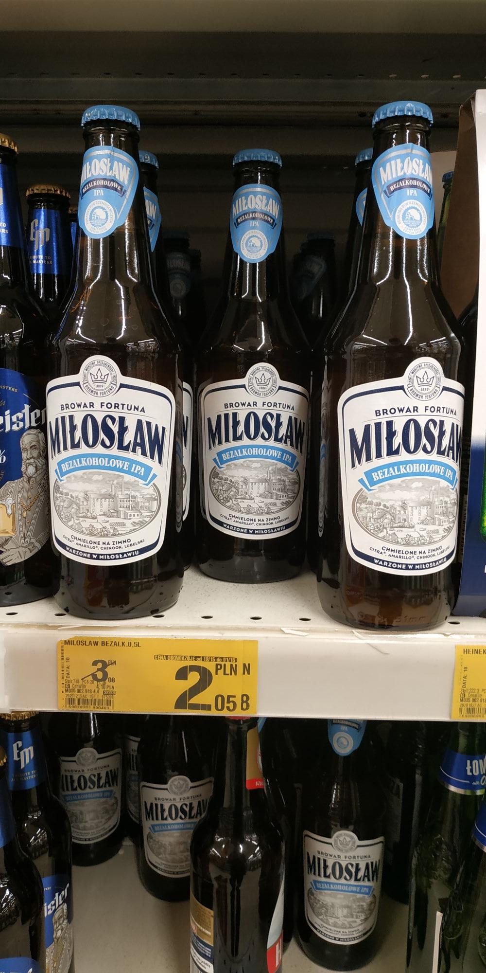 Miłosław piwo bezalkoholowe IPA Szczecin Auchan Galaxy