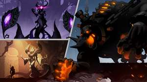 Shadow Knight Arena. Online Fighting game for Android