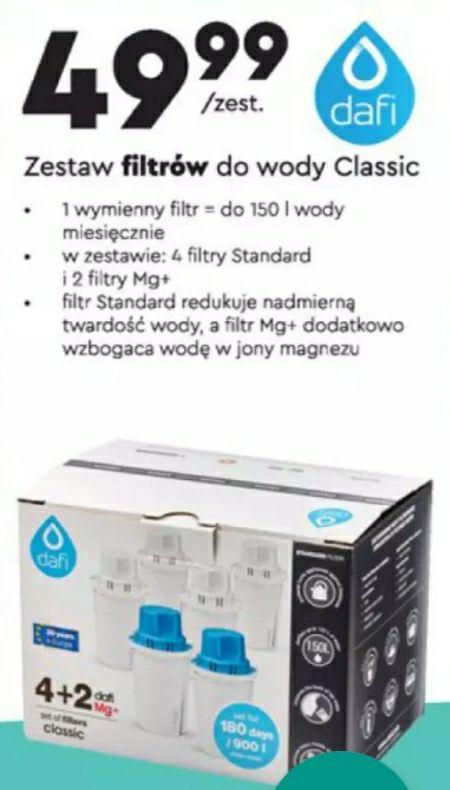 Filtry Dafi Classic Biedronka 2 mg+