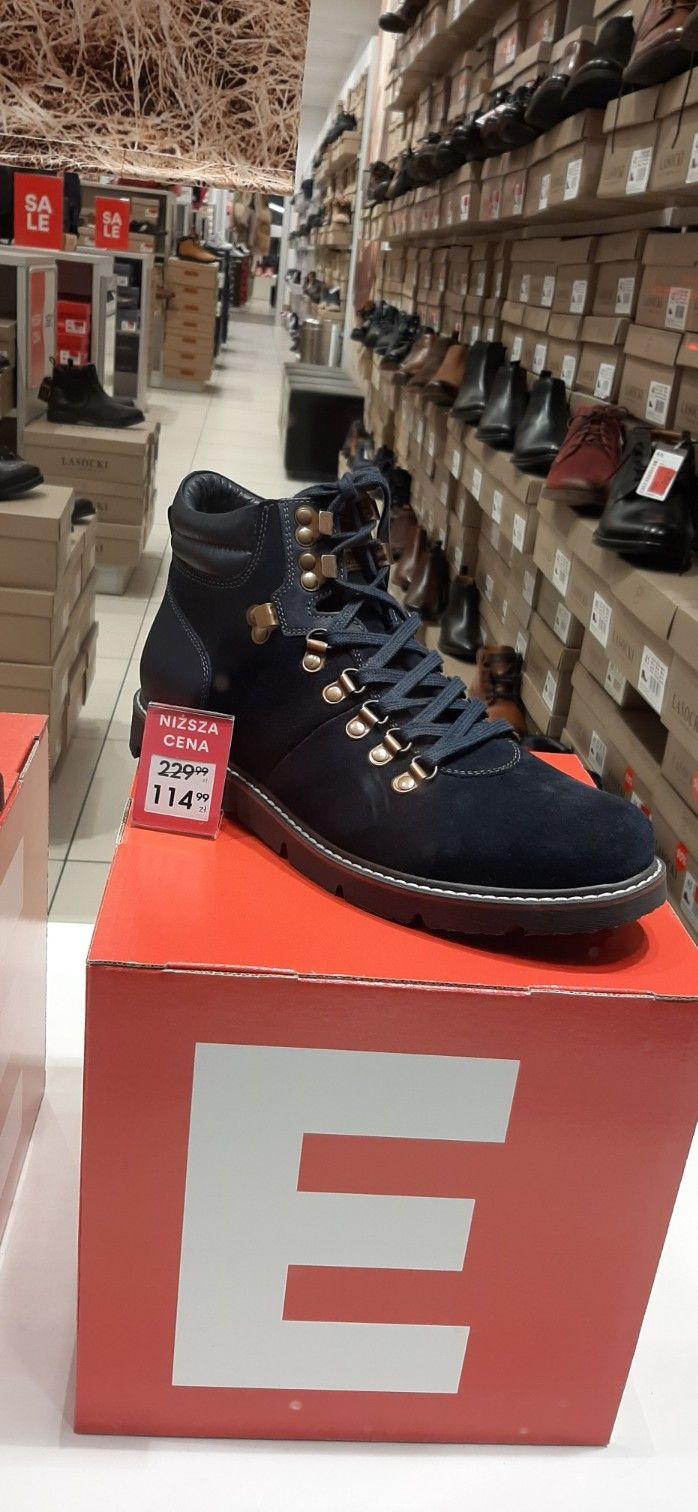 Męskie buty jesienno zimowe, znalezione w ccc.