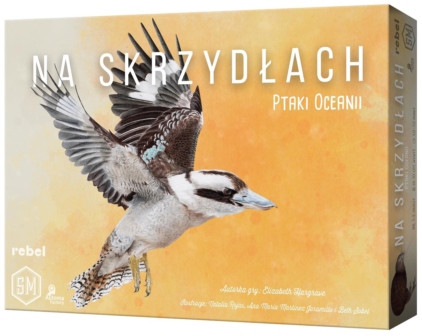 gra planszowa (dodatek) Na skrzydłach: Ptaki Oceanii