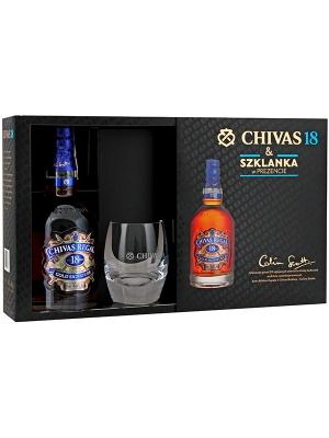 Chivas Regal 18YO + szklanka -25% @BdSklep