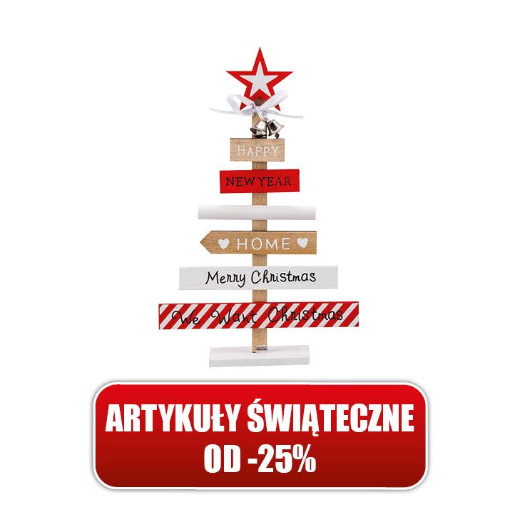 Wyprzedaż artykułów świątecznych od -25% DINO