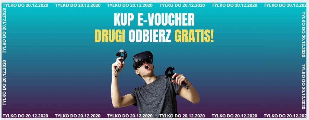 Kraków, VR Studio, wirtualna rzeczywistość, e-voucher dwa w cenie jednego
