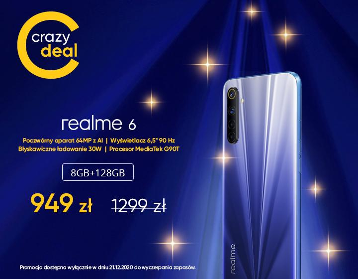 Smartfon realme 6 8GB 128GB