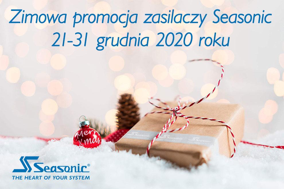 Zimowa promocja zasilaczy Seasonic, rabaty od 40 do 50zł