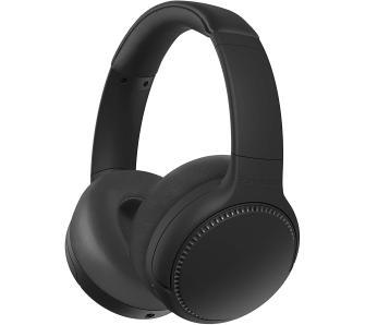 słuchawki bezprzewodowe Panasonic RB-M500BE-K czarne ( 30h, zasięg 10m, Złącze 3,5 mm )