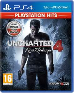 PS4 PlayStation Uncharted 4: Kres Złodzieja