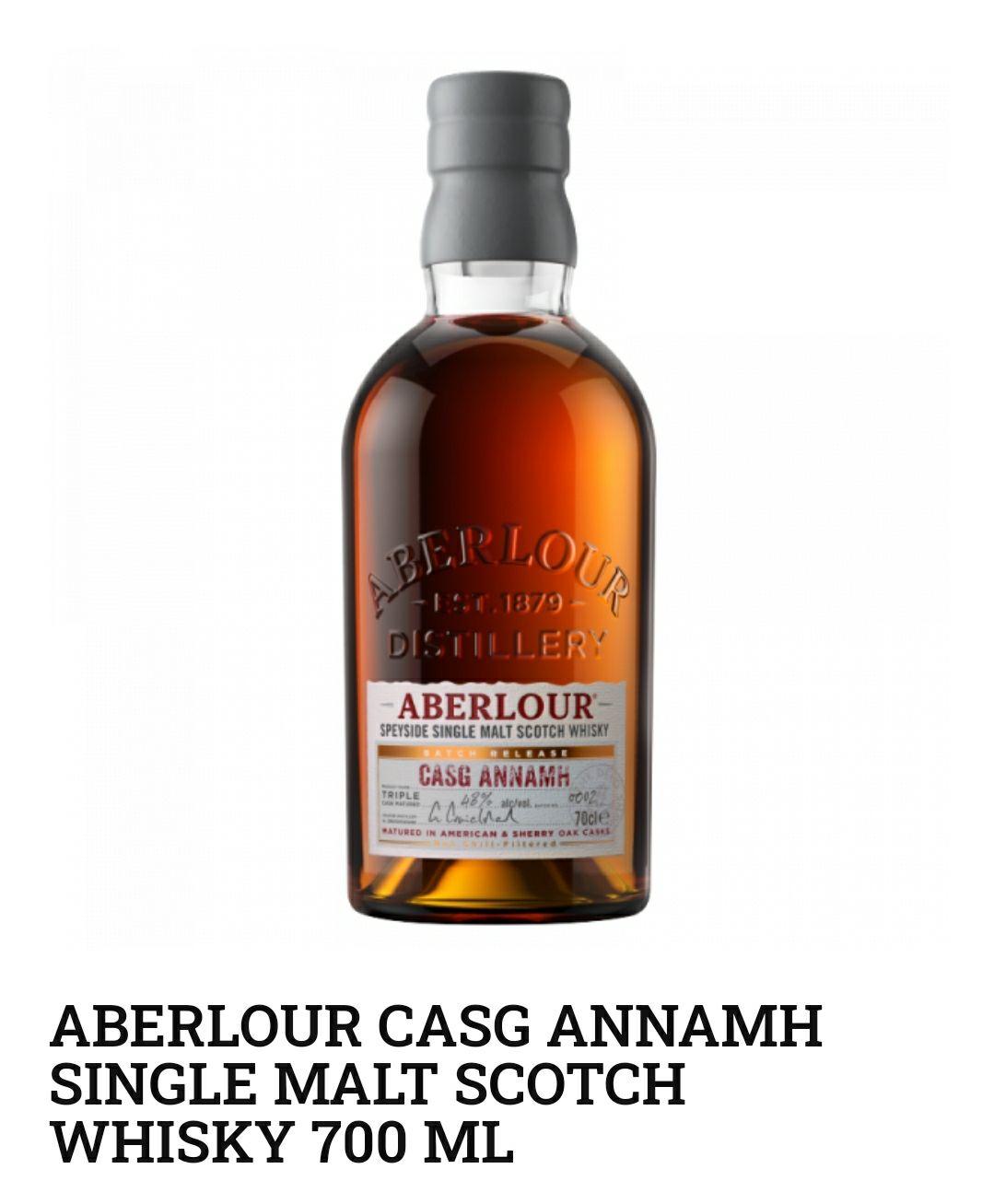 Whisky Aberlour Casg Annamh