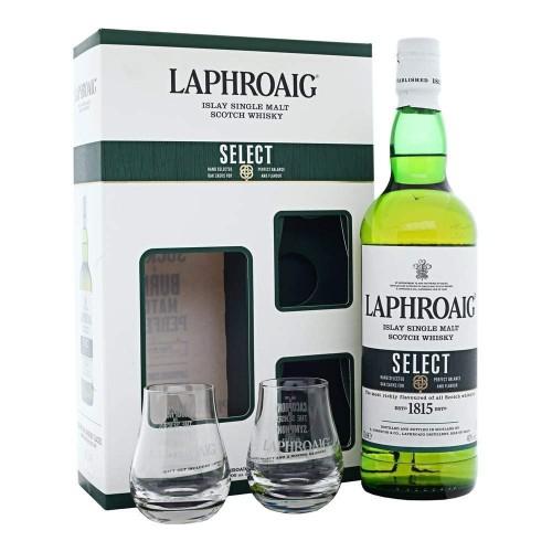 Whisky Laphroaig Select + 2 szklanki