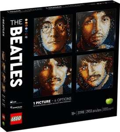 Lego 31198 Art The Beatles, 2933 elementów w sklepie Fikos.pl