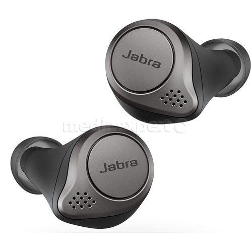 JABRA Elite Active 75t Tytanowo-czarny oraz Elite 75t