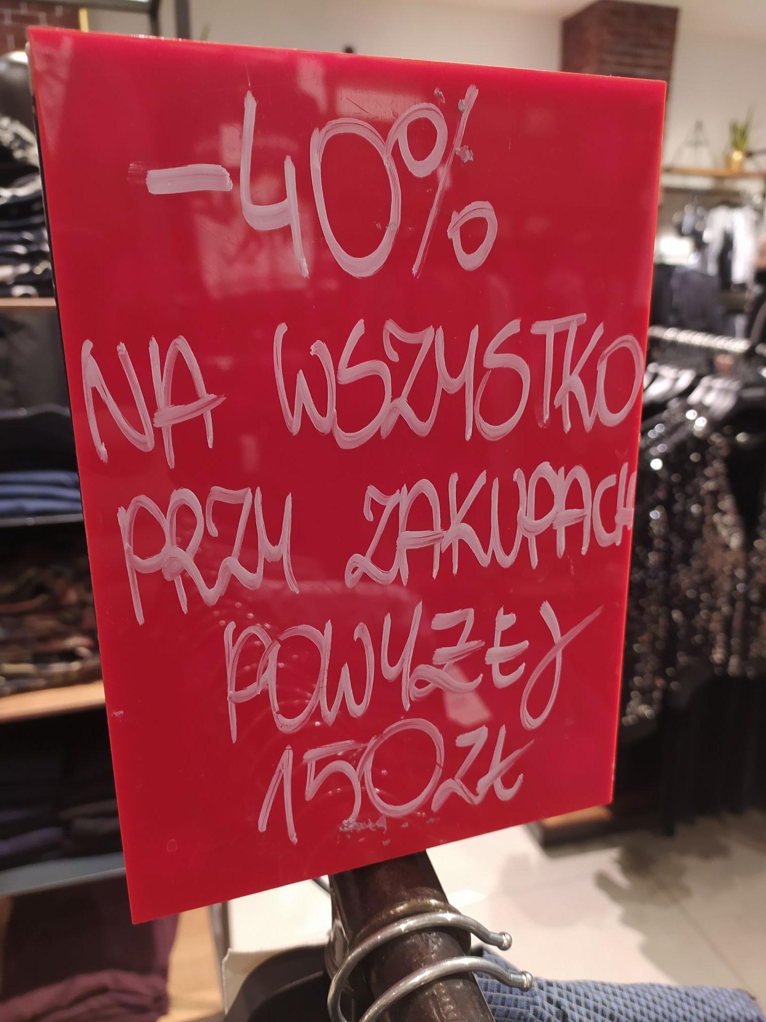 Medicine -40% na wszystko w sklepach stacjonarnych