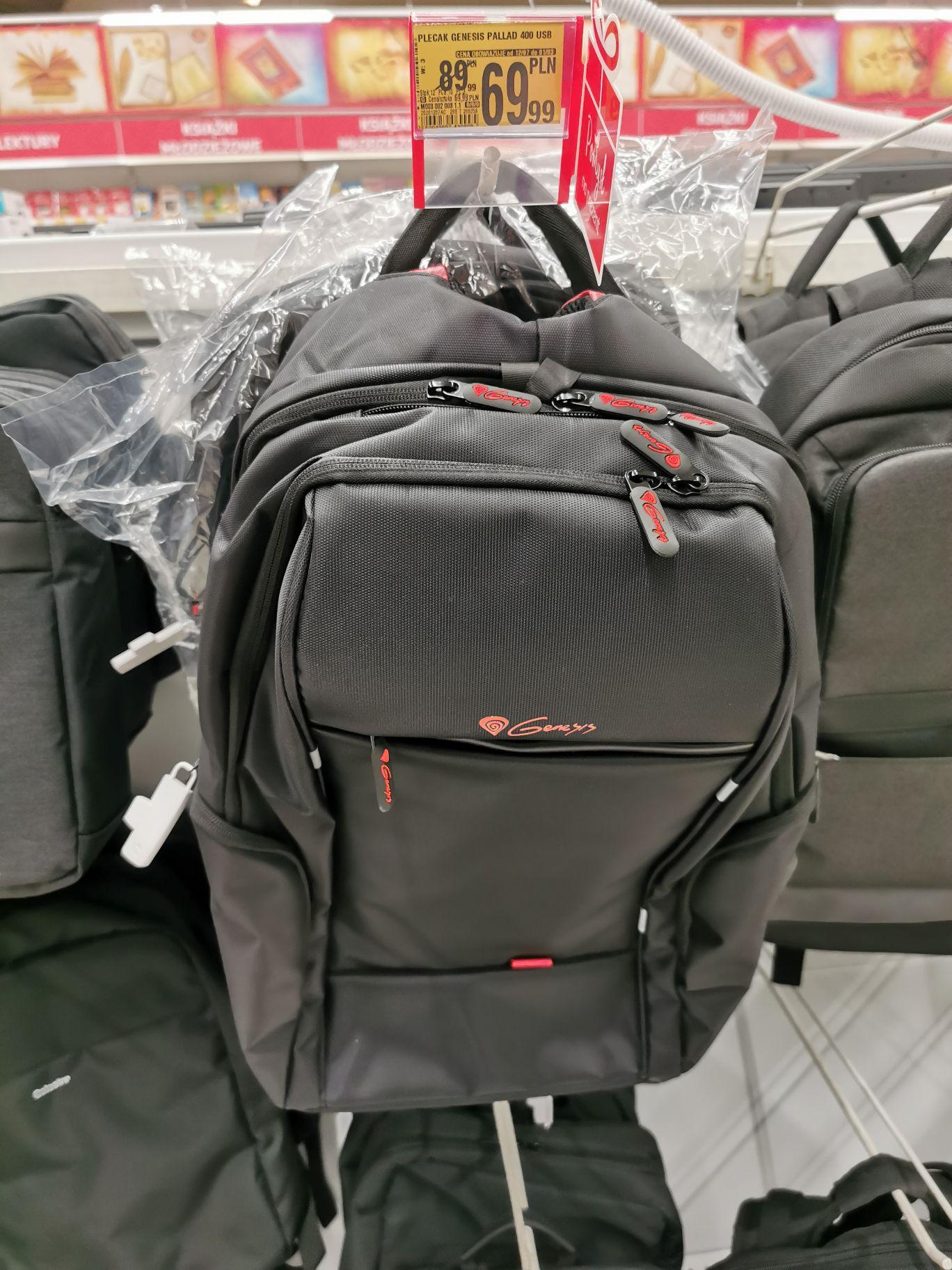 Plecak na laptopa genesis pallad 400, Auchan Poznań Komorniki