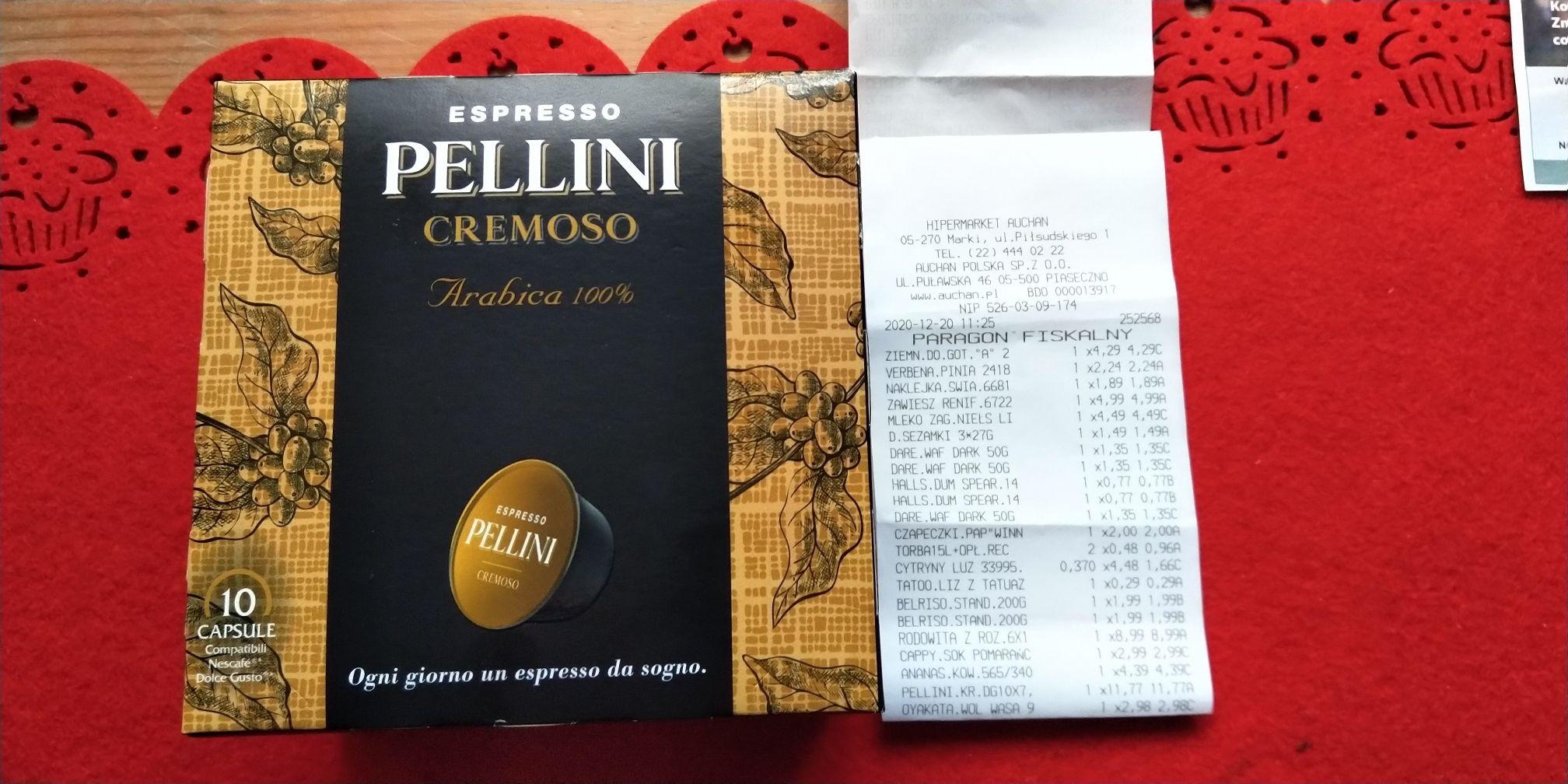 Kapsułki Pellini Cremoso 10szt do dolce gusto