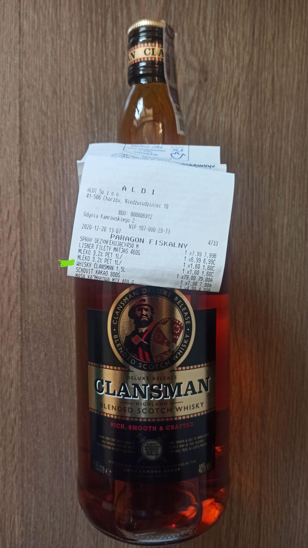 Whisky Clansman 1,5 l