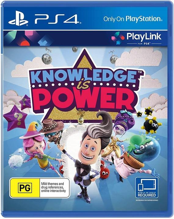 Knowledge is Power PS4 Wiedza To Potęga