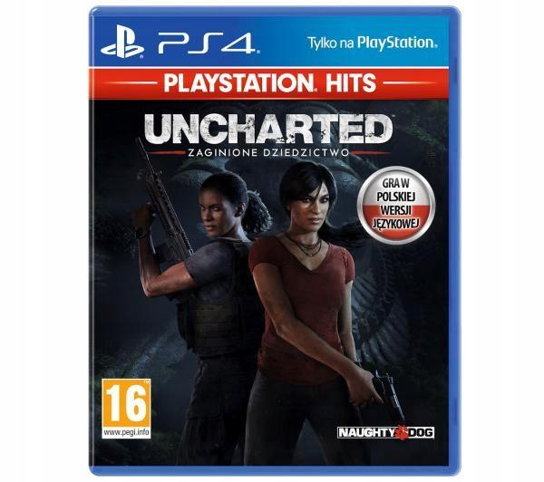 PS4 Uncharted Zaginione Dziedzictwo PL DUBBING