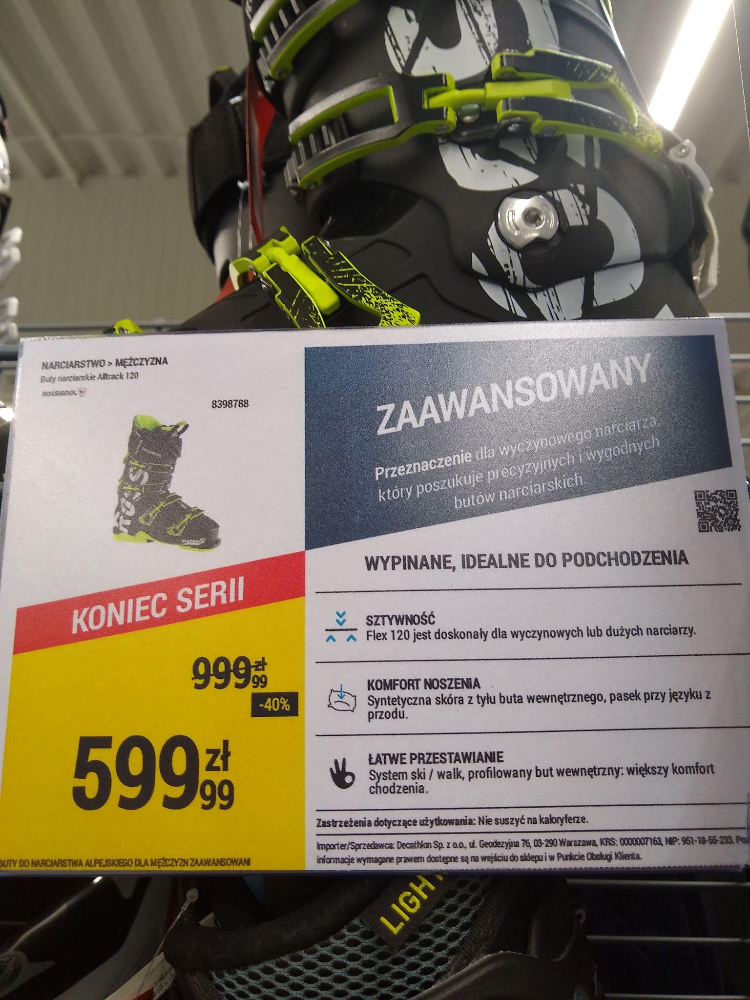 Buty narciarskie Rossignol Altrack 120
