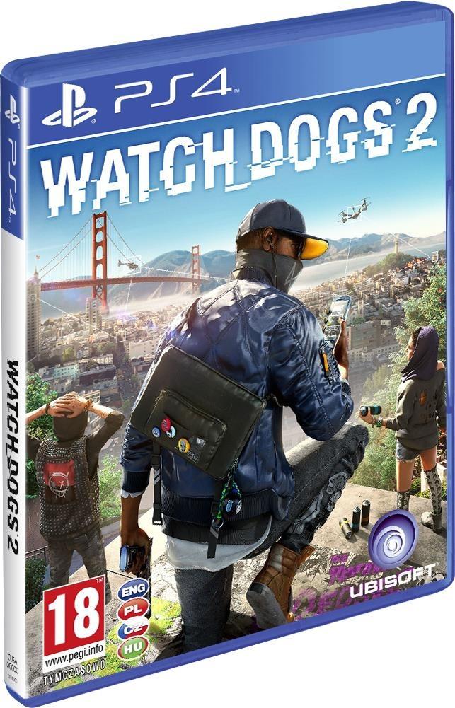 PS4 WATCH DOGS 2 PL FOLIA darmowa dostawa