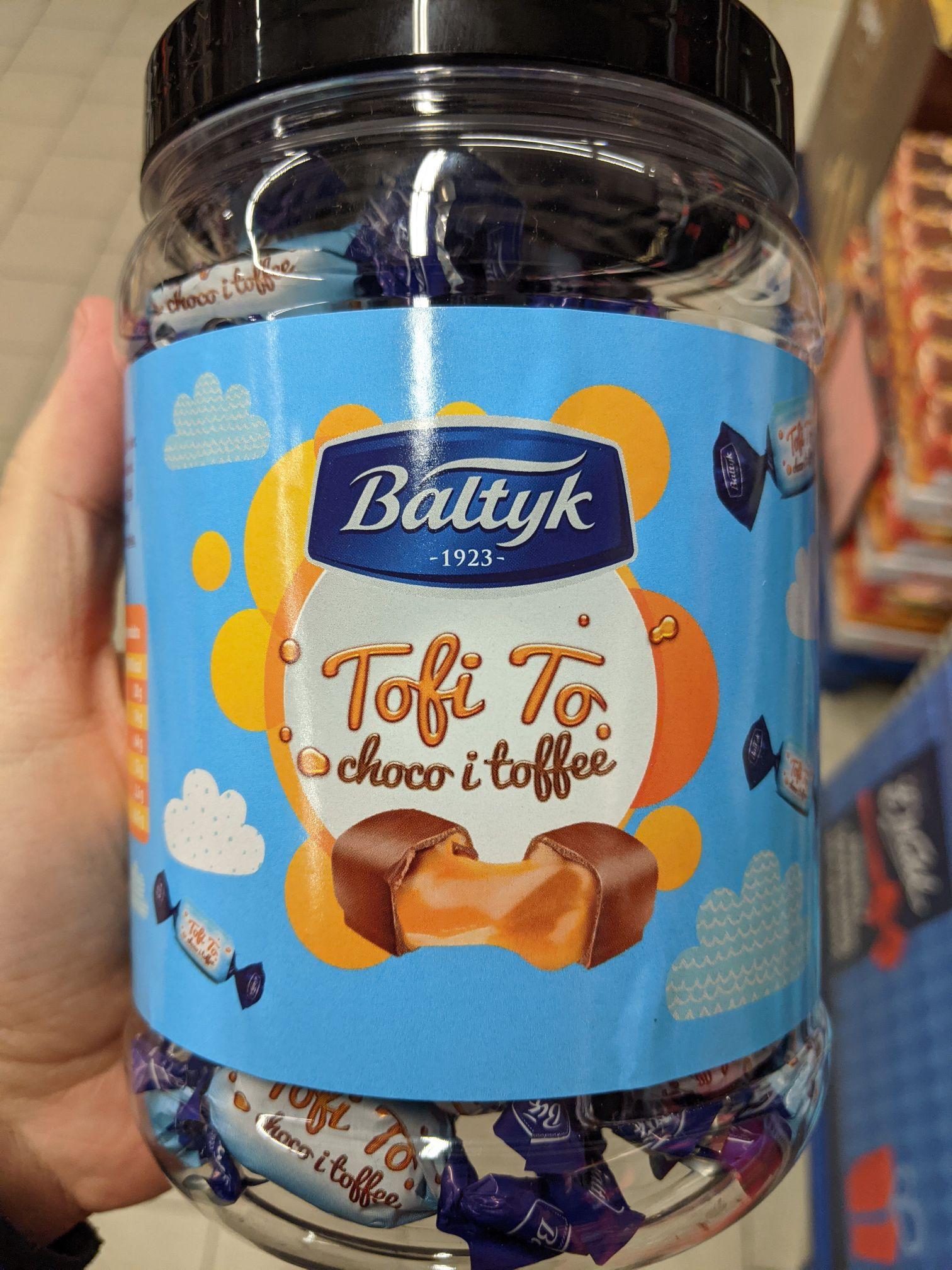 Cukierki Bałtyk 535g, Tofi To, Fantazja Koktajlowa, Likworki Gdańskie. Kaufland Sosnowiec