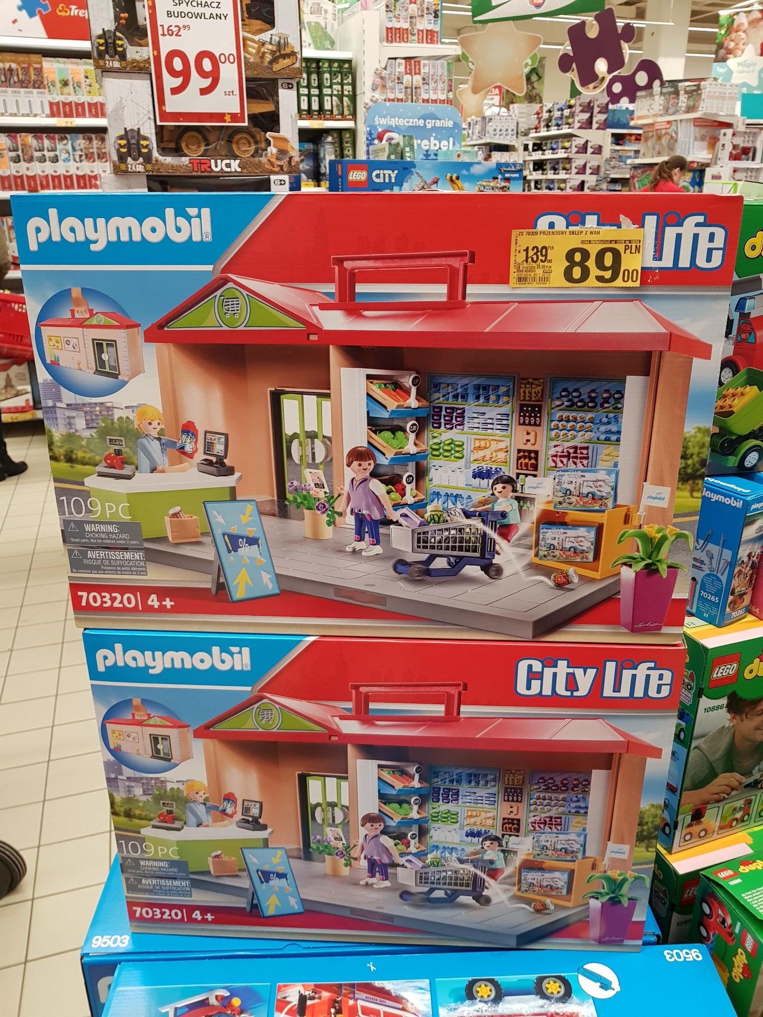 Zestaw klocków Playmobil Auchan Jubilerska