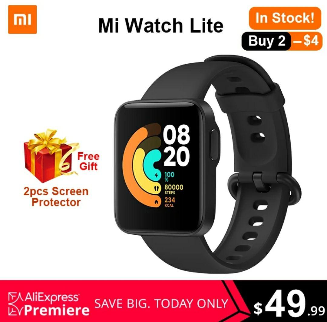 """Xiaomi Mi Watch Lite GPS 1,4"""" @Aliexpress"""