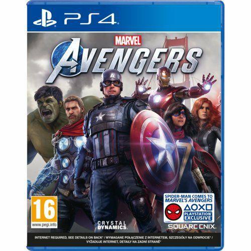 Marvel's Avengers Gra PS4 (Kompatybilna z PS5)