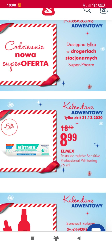Elmex Sensitive Professional Gentle Whitening 75ml @superpharm