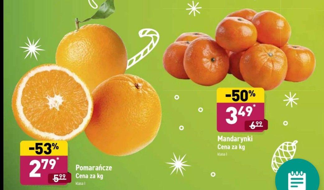 Pomarańcze 2.79 Aldi (mandarynki 3.49)