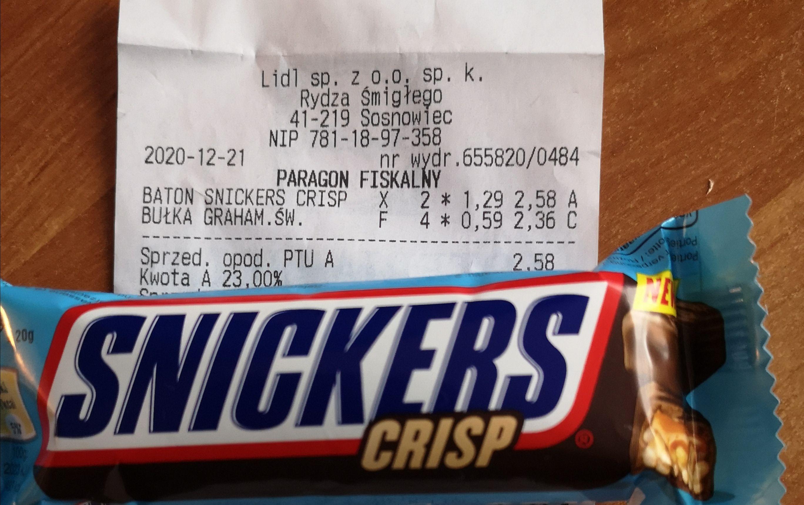 Snickers Crisp @Lidl