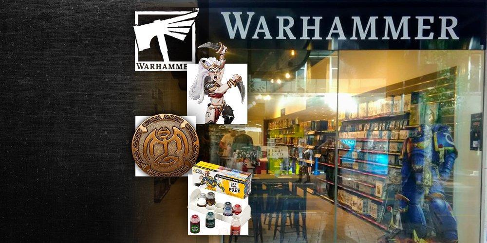 Games Workshop: Warhammer i Warhammer 40k figurki za darmo + 10ta nadrozsza Farba free + kolekcjonerska moneta MWZ
