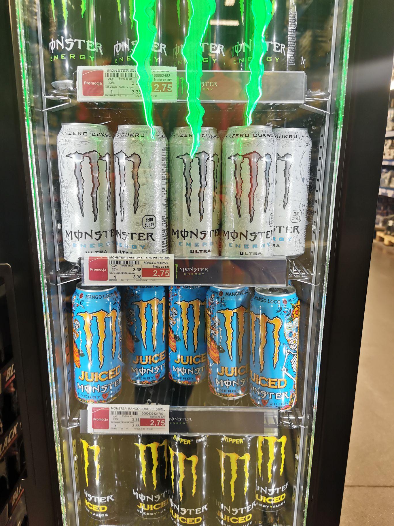 Monster Energy 500ml Selgros