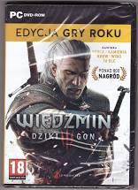 WIEDŹMIN III Dziki Gon +3 przygody wer BOX PL - PC