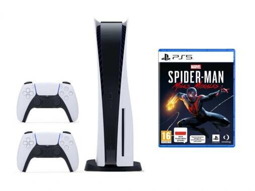 Konsola SONY PlayStation 5 PS5 + PAD + Spider-Man - (wysyłka po 31.01.2021)