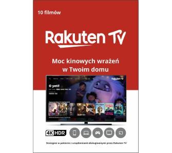 Rakuten TV Kod na 10 filmów UHD 4K