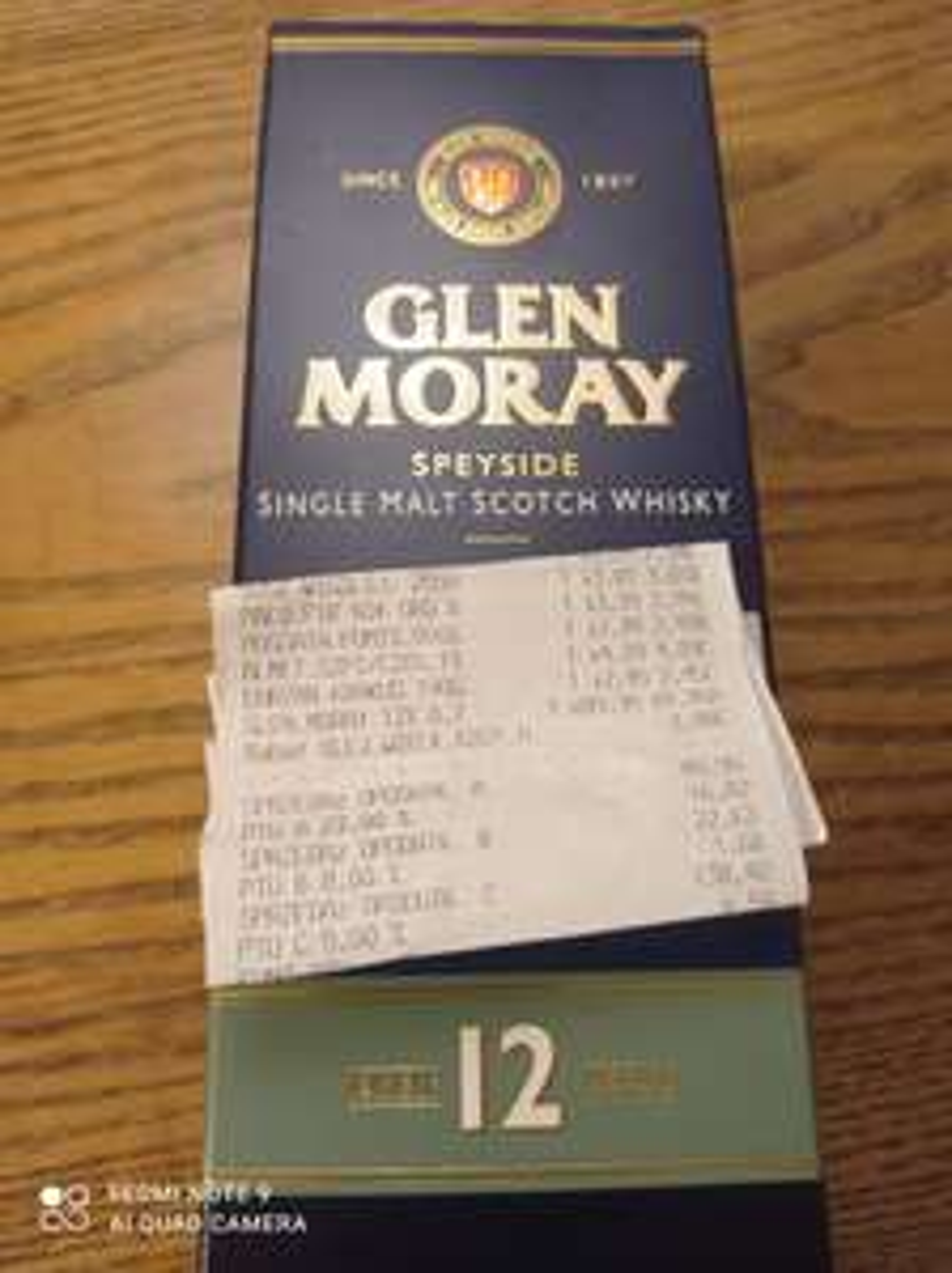 Whisky Single Malt Glen Moray 12 yo 0,7 l