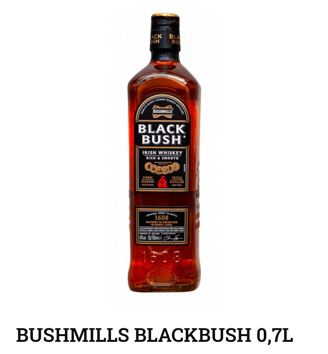 Whisky Bushmills Black Bush 0,7