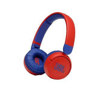 bezprzewodowe słuchawki JBL JR310BT dla dzieci ( czerwono-niebieskie lub różowo-błękitne, mikrofon, 30h, 90 dB, 32 Ω )