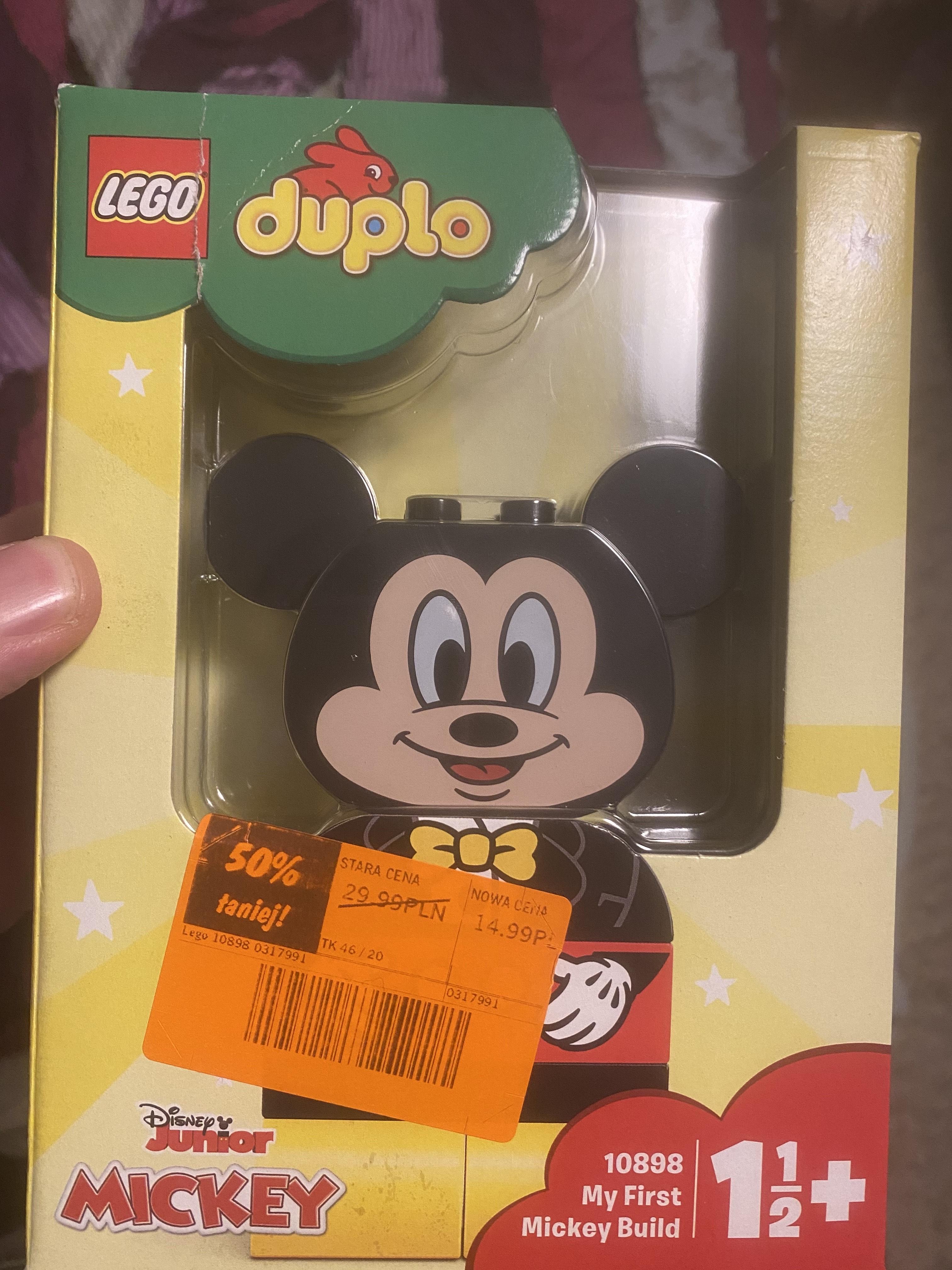 My first Mickey Build klocki duplo