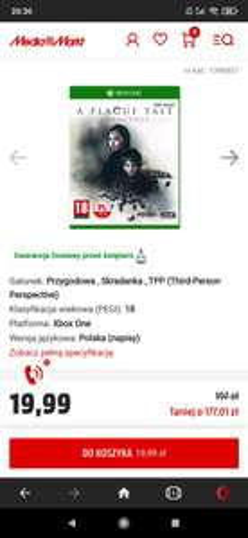 Gra Xbox One A Plague Tale: Innocence - Legnica