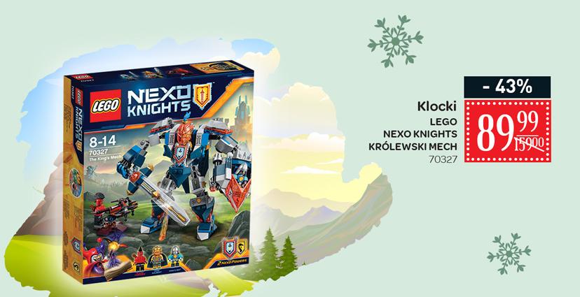 Lego Nexo Knights Królewski Mech za 89,99zł @ Carrefour