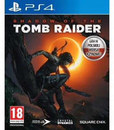 SHADOW OF THE TOMB RAIDER PS4 POLSKI DUBBING NOWA