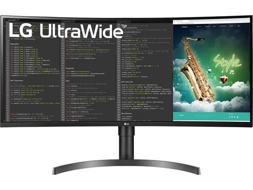 Monitor zakrzywiony LG UltraWide QHD HDR | 35WN75C z USB-C