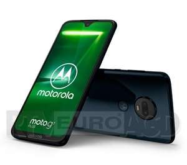 Smartfon Motorola Moto G7 Plus 4GB (granatowy)