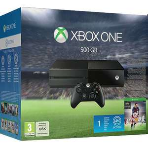 Konsola Xbox ONE 500GB + FIFA 16 + Legends + 1 MC LIVE GOLD + free kurier