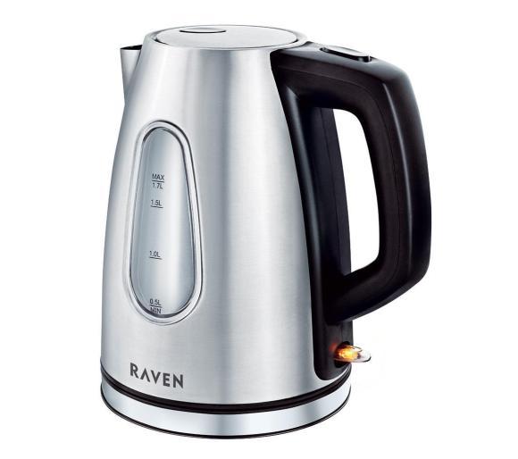 Czajnik RAVEN EC003SN, Pojemność 1,7 litra Moc 2150W @RTVEuroAGD