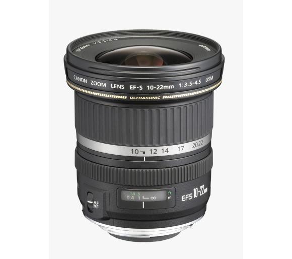 Obiektyw Canon EF-S 10-22 mm f/3,5 - 4,5 USM @ Euro